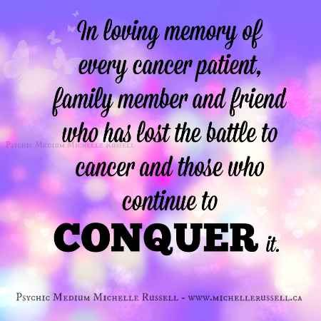 In Loving Memory Of Every Cancer Patient Family Member And Friend Who Has Lost The