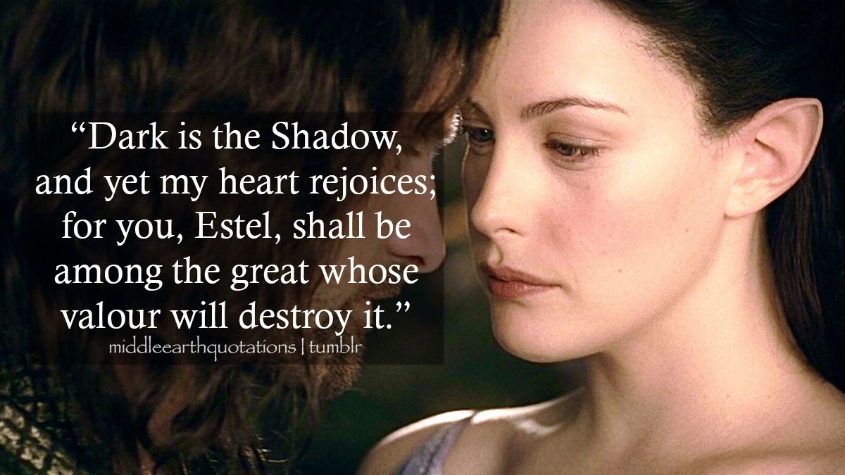 Arwen To Aragorn The Lord Of The Rings Appendices A Annals Of The