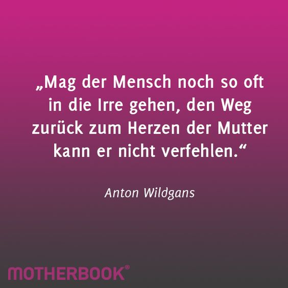 Mutter Zitat Des Monats Motherbook Zitate Pinterest
