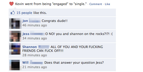 Funny Facebook Status And Comments