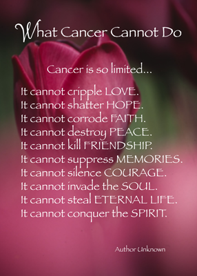 Lost Battle With Cancer Quotes Best Quote