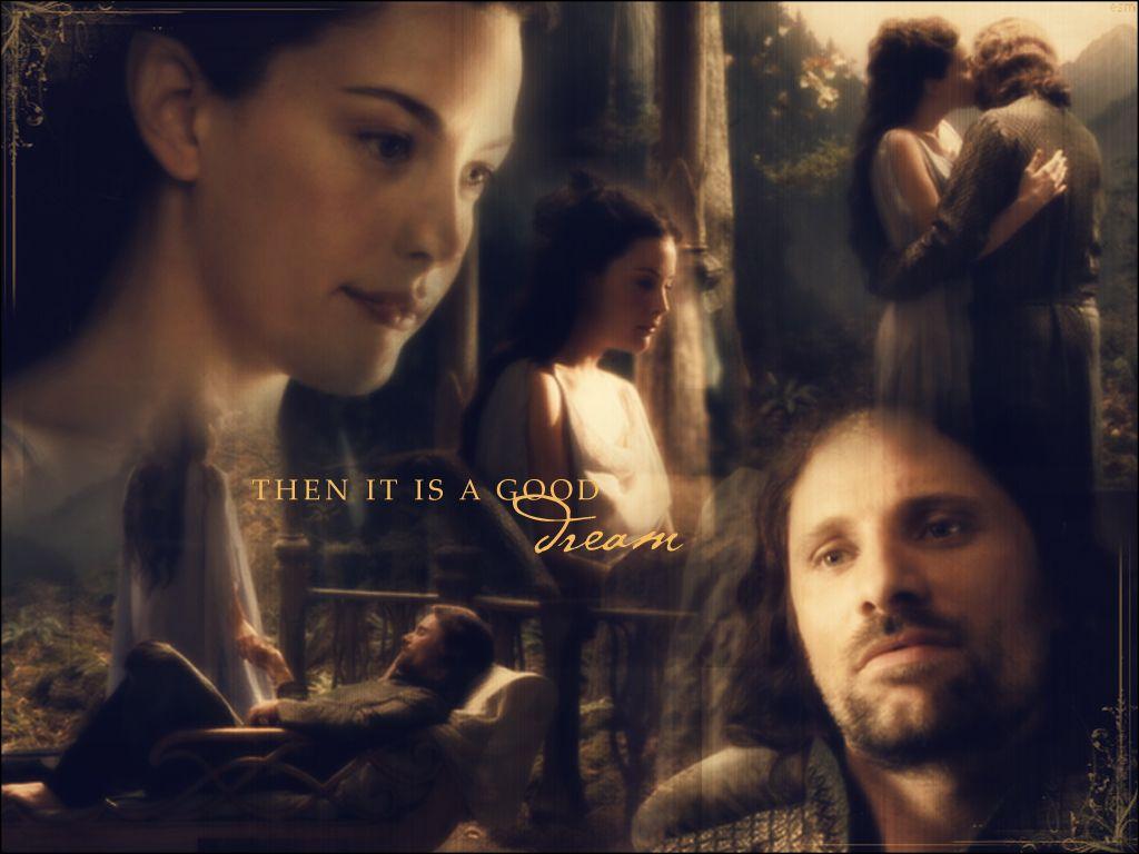 Aragorn Arwen And Aragorn Aragorn And Arwen Wallpaper  Fanpop