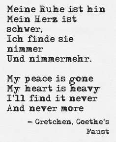 Goethes Faust Gretchen