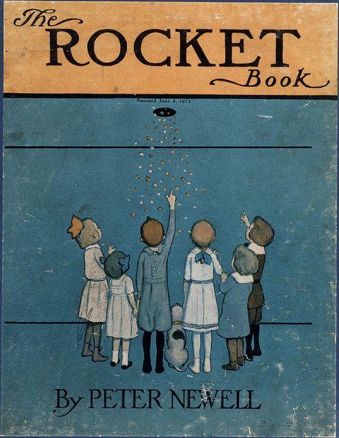 The Rocket Book Cover Alte Bucher Kinderbucher Und Buecher