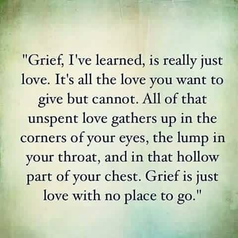 Grief Isnt Always Because Someone Died Sometimes Its Over A Loss Of Relationships