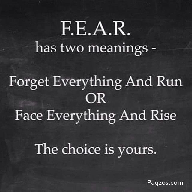Fear Meaning