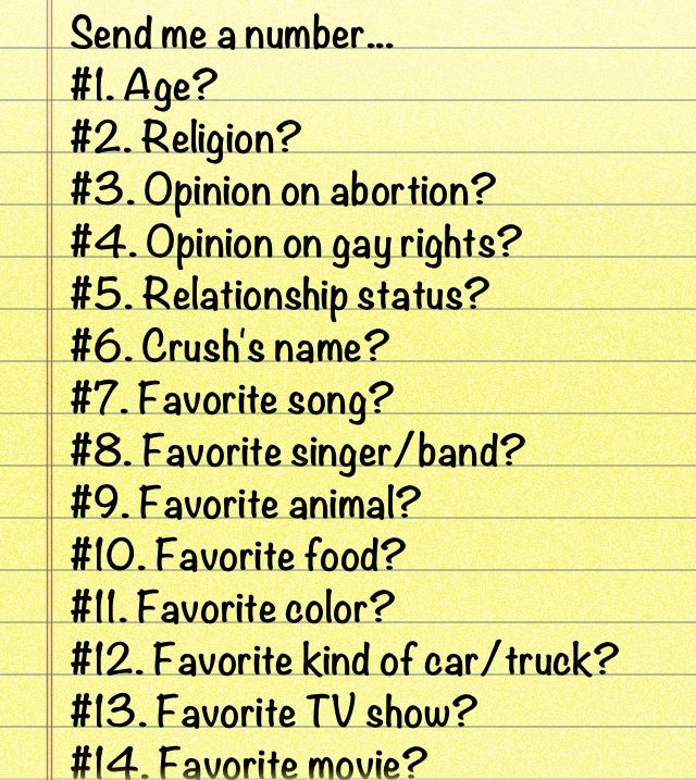 Send Me A Number And Please Dont Judge Me Of What I Have