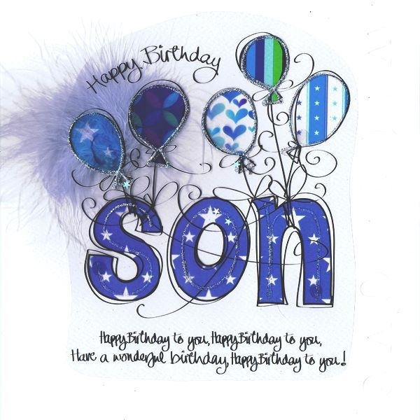 Happy Birthday Son Quotes Images Pictures Messages