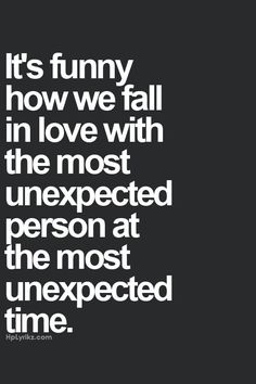 Unexpected Love Quote