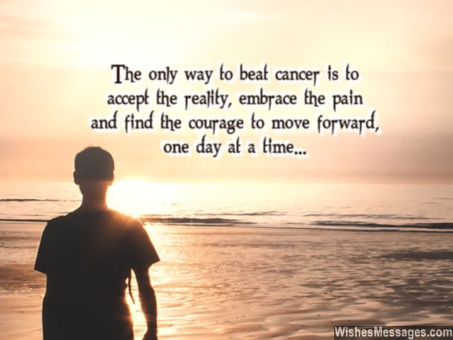 Accept Reality Of Cancer Quote Inspiration To Em Ce Pain