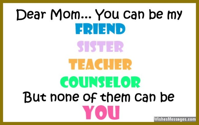 Beautiful Quote For Mom