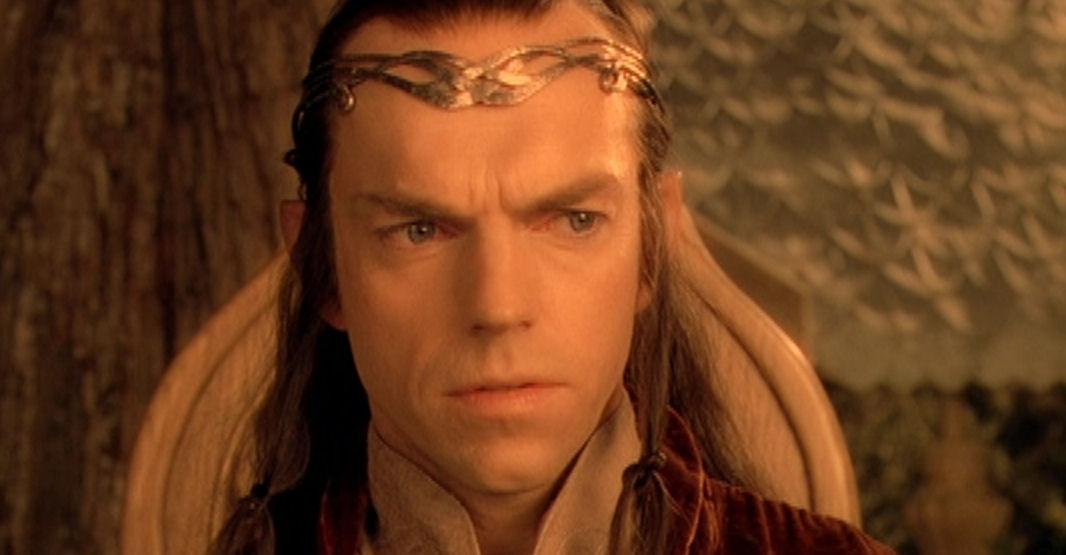 Elrond Es Gibt Nur Einen Einzigen Weg Der Ring Muss Vernichtet Werden
