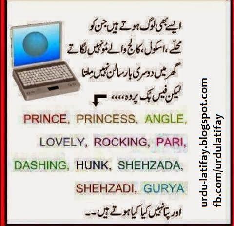 Face Book Joke In Urdu