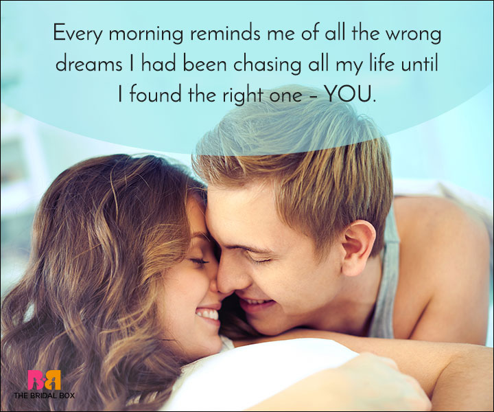 Good Morning Love Quotes You