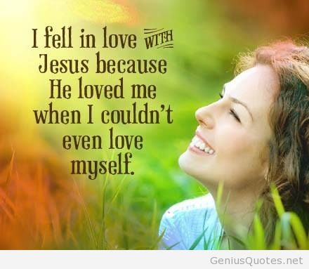 Feel In Love With Jesus