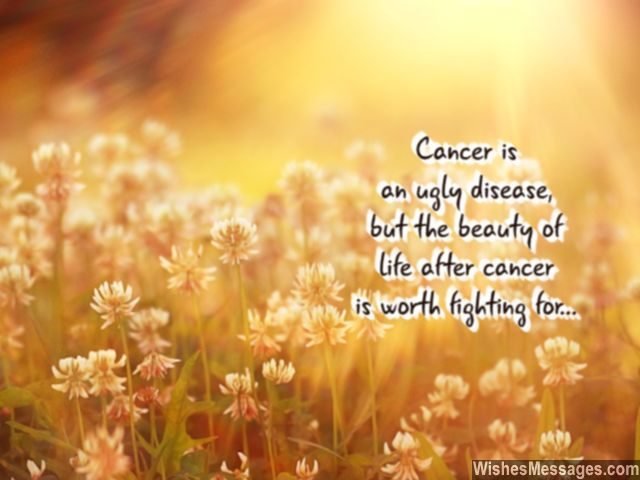 Motivation To Fight Cancer Beauty Of Life After Recovery Inspirational Quotes