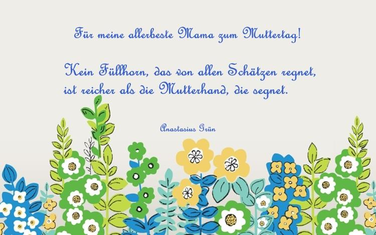 Muttertagsspruche Und Gedichte Fur Beste Mama