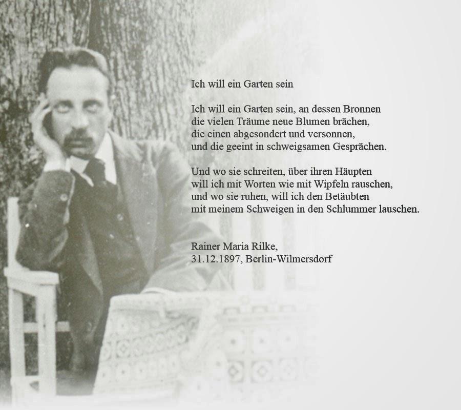 Rilke Zitate Zitate Sprche Bilder Und Gedichte Sofies Viele Welten