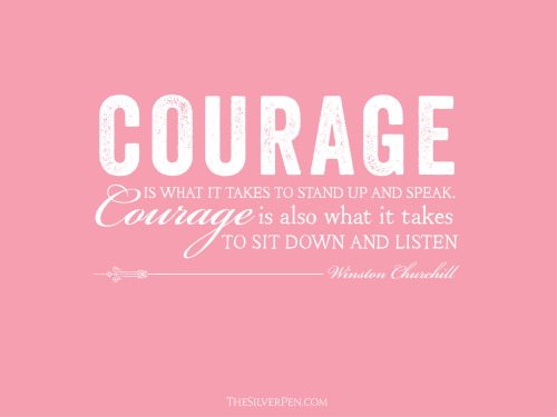 Courage The Silver Pen