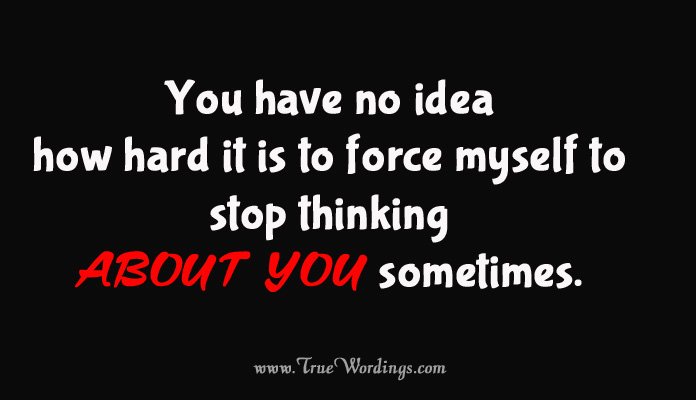 Thinking Of You Quote For Her