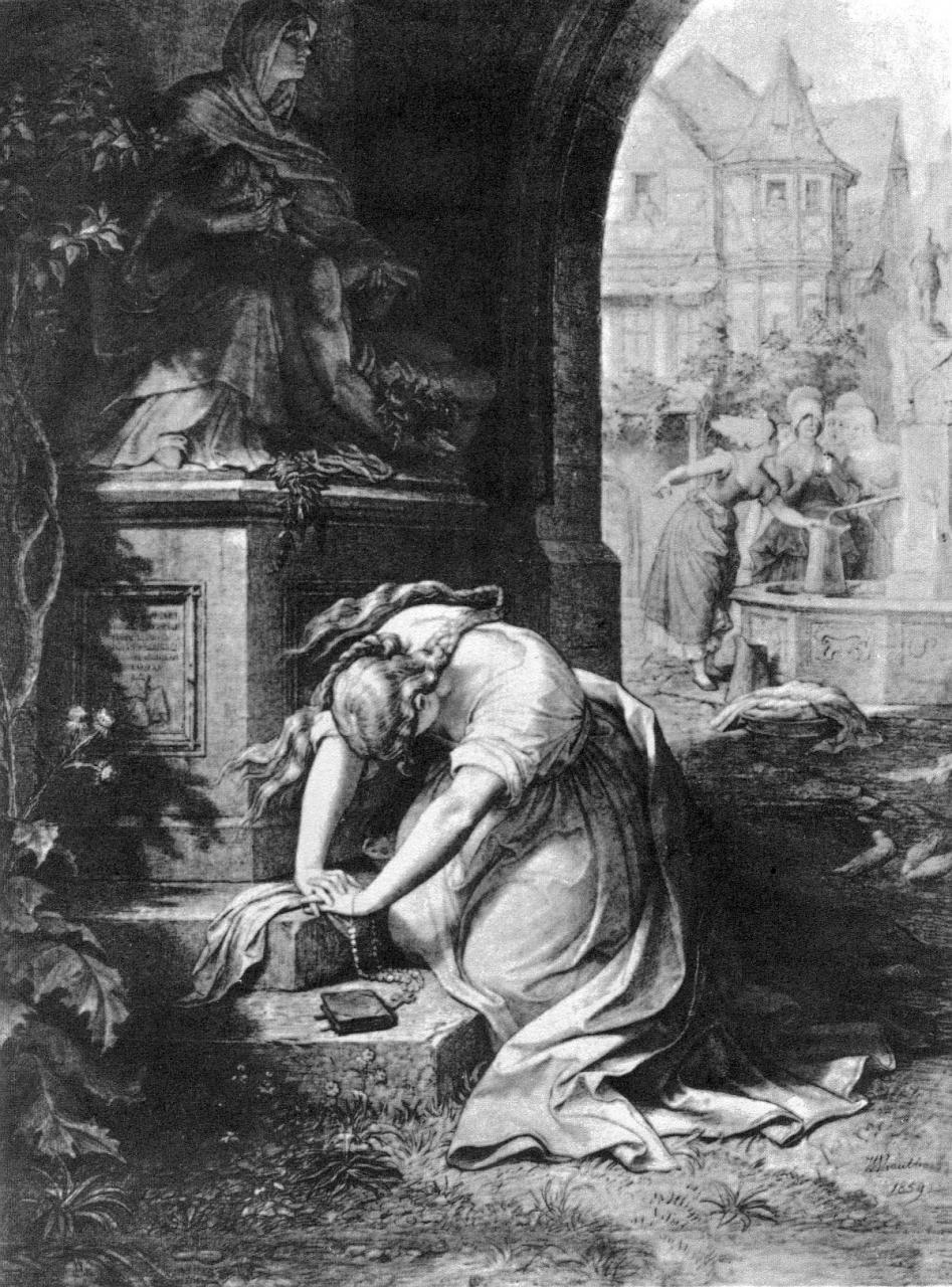 Filewilhelm Von Kaulbach Gretchen Vor Der Mater Dolorosa Jpg