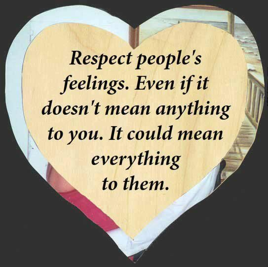 Realizing True Friends Quotes Respect Peoples Feelings Love Is Great