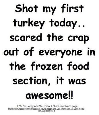 Funny Thanksgiving Pictures For Facebook Funny Facebook Status Shooting A Turkey Funny Facebook Status Update