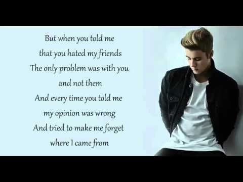 Image Result For Zitate Aus Liedern Von Justin Bieber