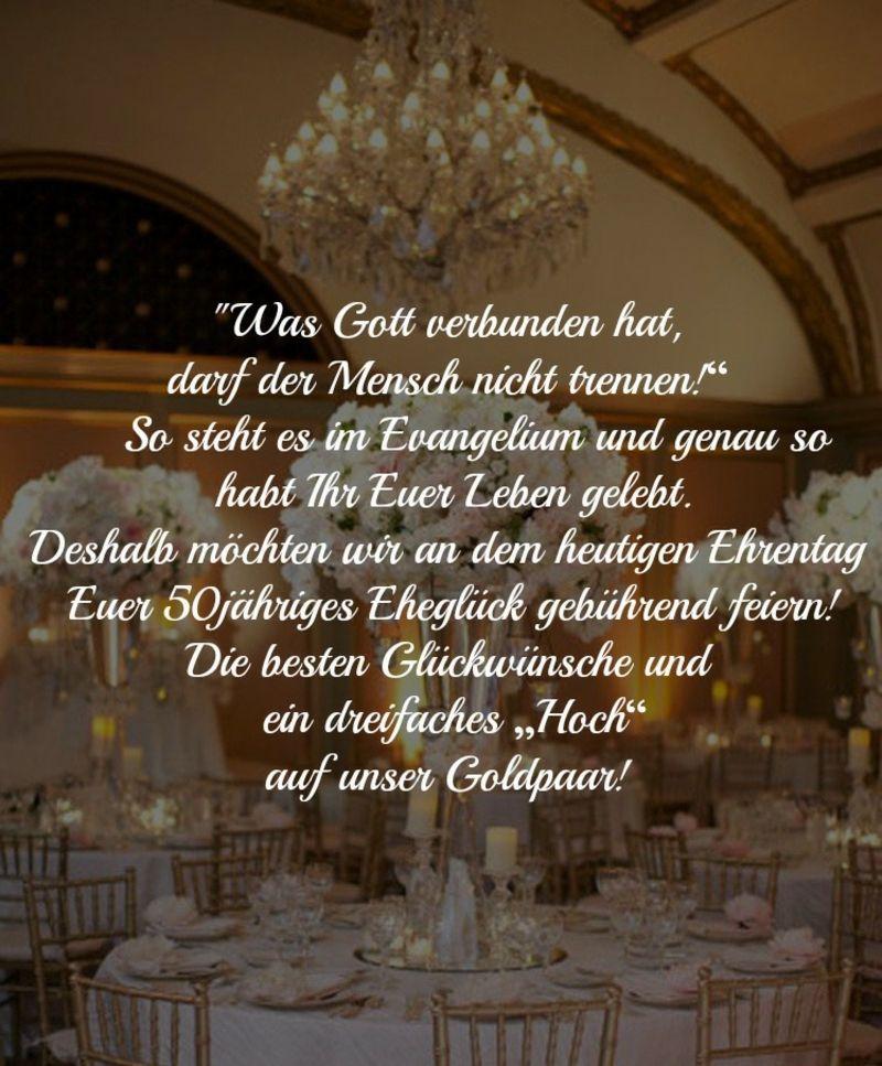 Wunsche Zur Goldenen Hochzeit Christlich
