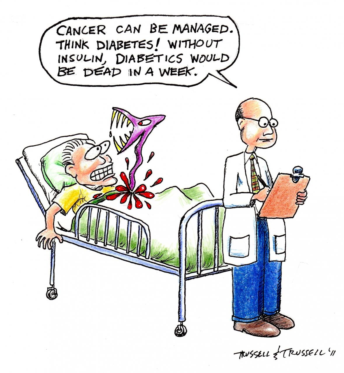 Cancer Cartoons