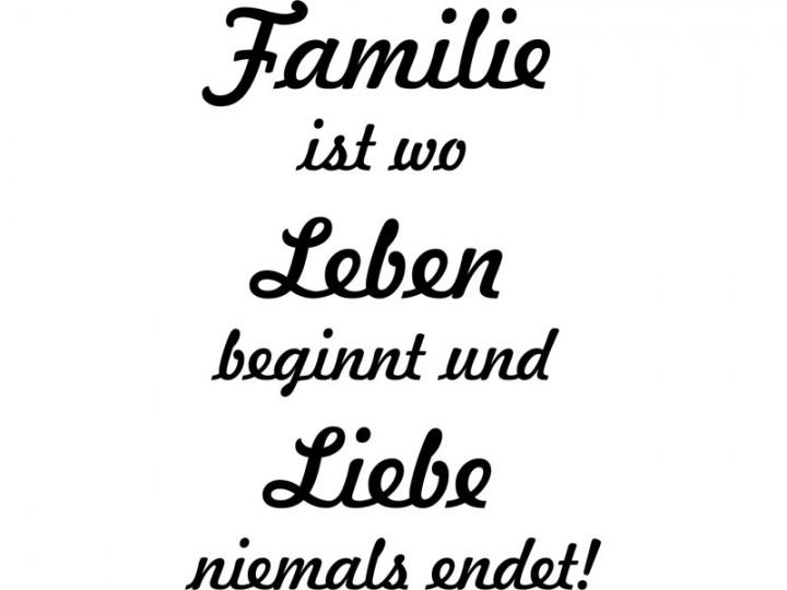 Beste Zitate Familie | Leben Zitate