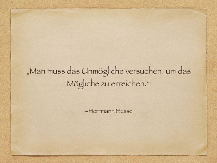 Zitat Herrmann Hesse