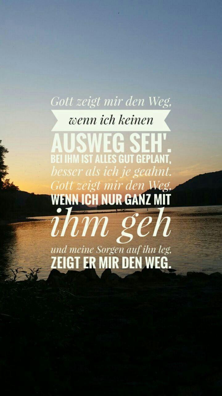 Christliche Zitate Christliche Spruche Gebetbuch Segen Gott Ist