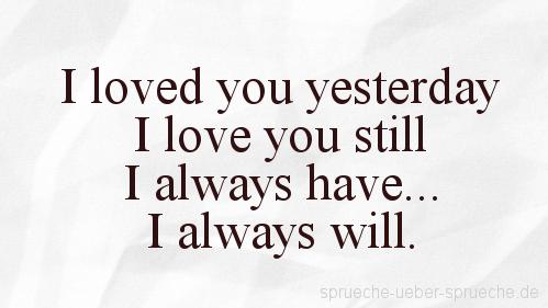 I Love You Spruche Auf Englisch