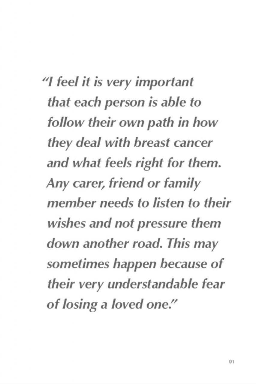 Estee Lauder Campaignt Cancer Quotes Losing Someone To Cancer Quotes