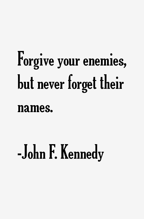 John F Kennedy Quotes Sayings