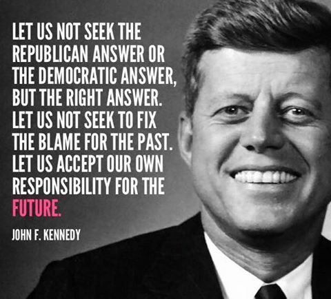 Jfk Quote More  C B Spruche Englischjfk