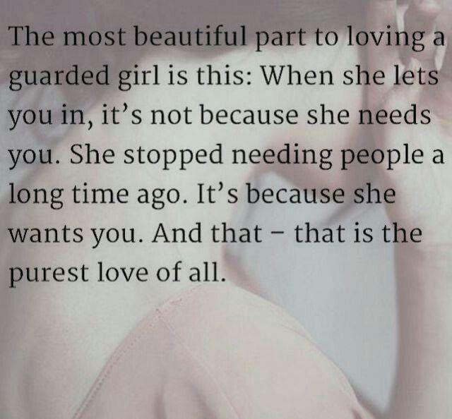 Thats What I Thought About My Guarded Girl I Hope Youlet Me Love