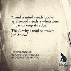 Quote Literature Gameofthrones