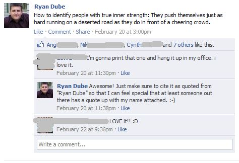 Best Facebook Status Updates