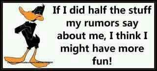 Funny Facebook Status Funny Rumors About Me Facebook