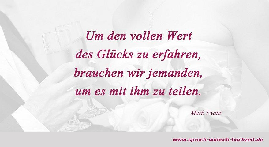 Spruche Hochzeitskarte Mark Twain