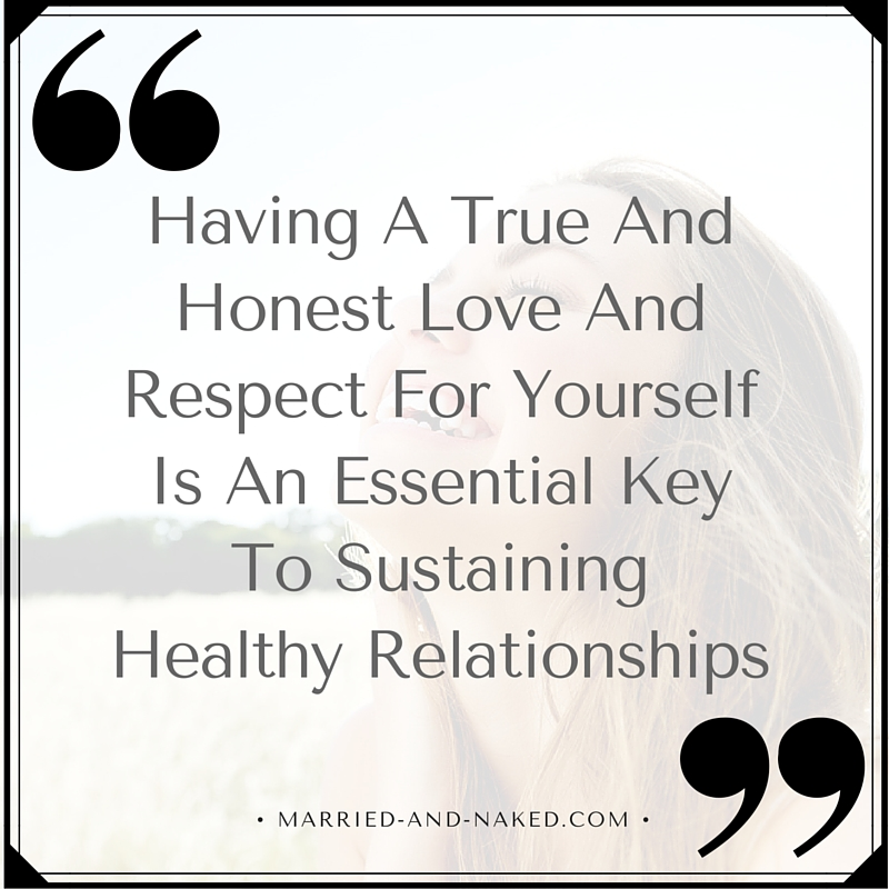 Respect Yourself Marriage Quote