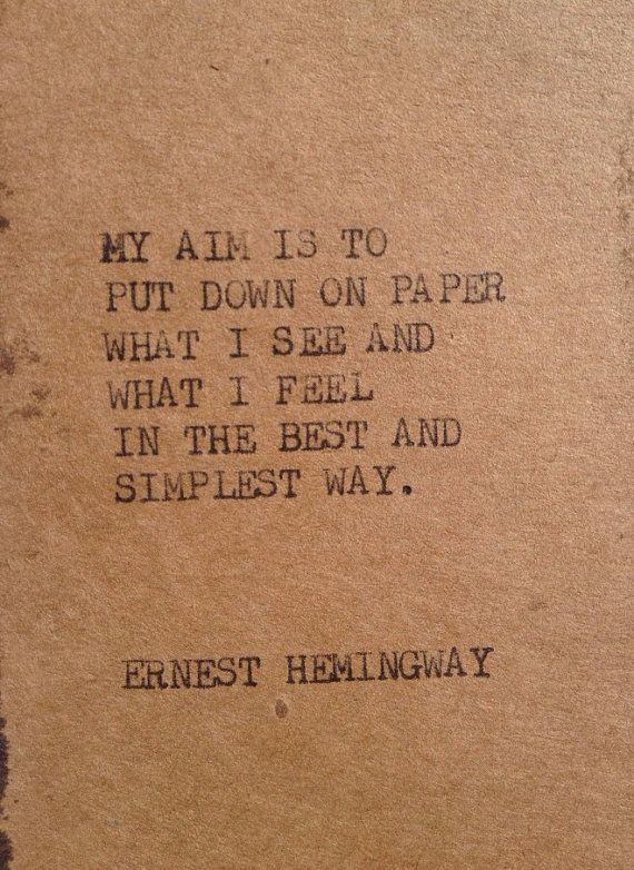 Advice On Business Writing From Ernest Hemingway Wordstruck