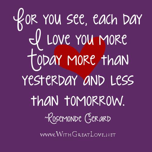 I Love U Quotes