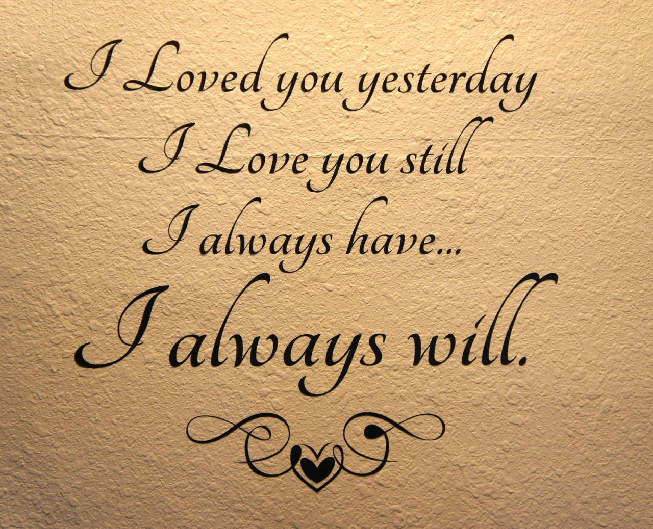I Love You Quotes For Him For Gallery