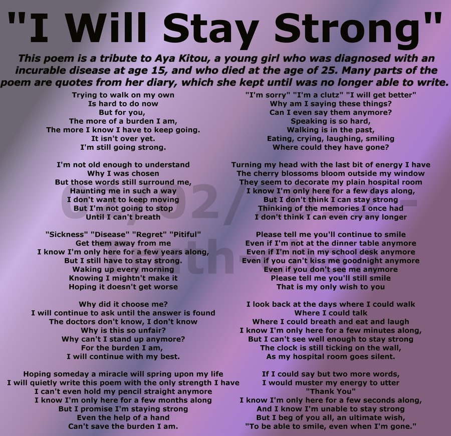 Image Result For Quotes About Staying Strong Through Cancer
