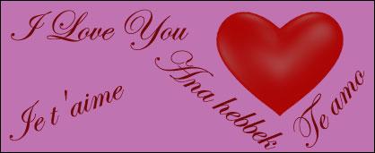 Ich Liebe Dich In Allen Sprachen Liste