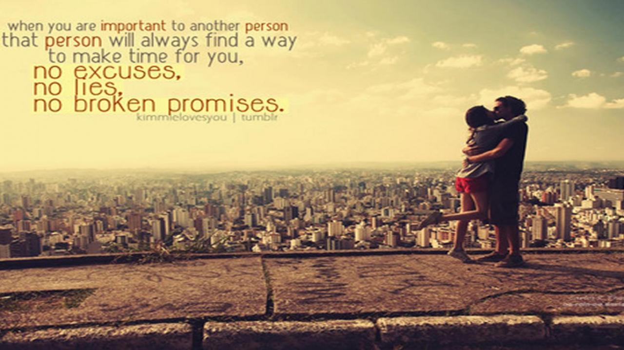 No Broken Promises Love Quote
