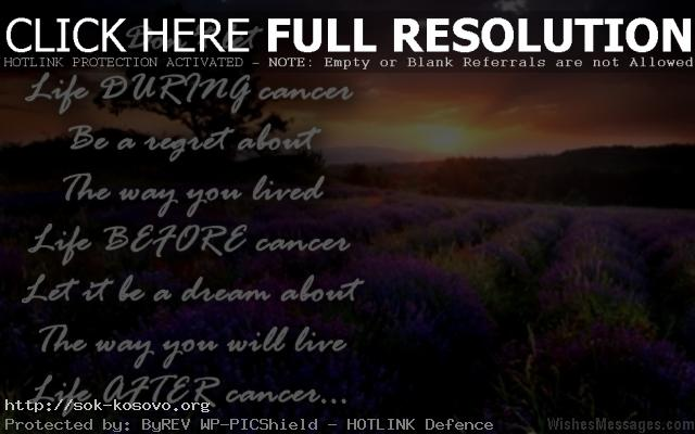Inspirational Quotes For Cancer Patients Custom Inspirational Quotes For Cancer Patients Messages And Notes